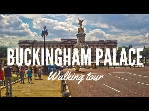 London walking tour Victoria station to Buckingham palace