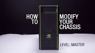 GeForce Garage: Cross Desk Series, Video 1 - How to Modify Your Chassis For Better Airflow