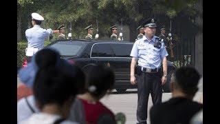 Kim Jong-un op bezoek in China