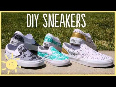 Diy Decorate Vans Shoes Gif Maker – DaddyGif.com (see description)