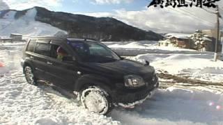 X-TRAIL VS SNOW エクストレイルは無敵か?Nissan Motor Co
