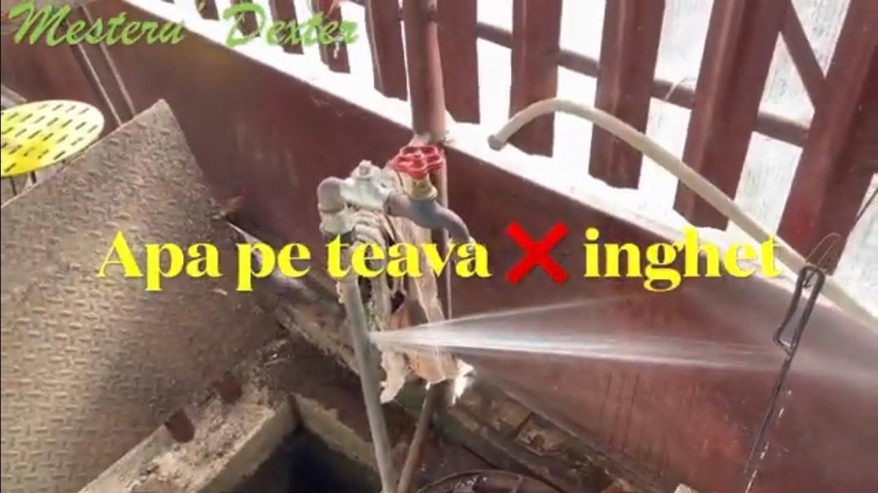 Download Apa pe teava + inghet = love⁉️