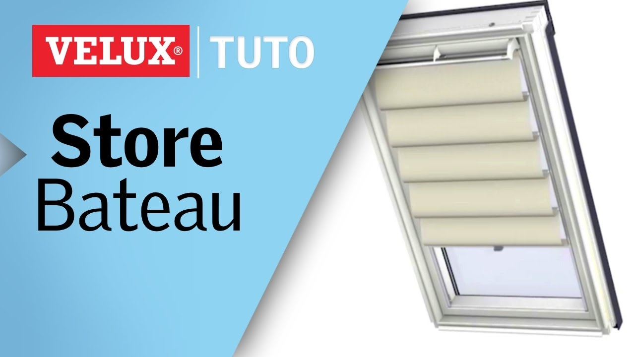fonctionnement du store bateau velux r f fhb youtube. Black Bedroom Furniture Sets. Home Design Ideas