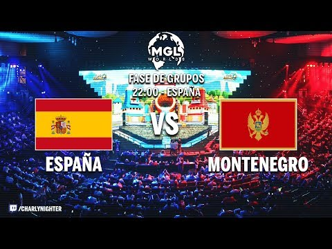 España vs Montenegro | PARTIDAZO!!! | MGL Worlds