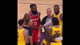Lakers vs Rockets FULL FIGHT with Travis Scott