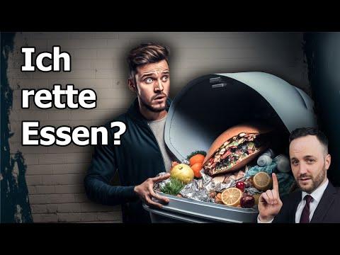 Containern illegal und strafbar ? Lebensmittel aus dem Müll retten | Herr Anwalt