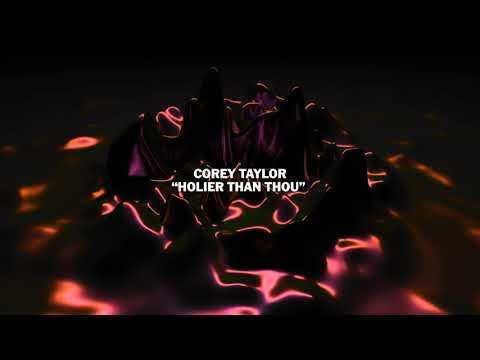 """Corey Taylor – """"Holier Than Thou"""" from The Metallica Blacklist"""