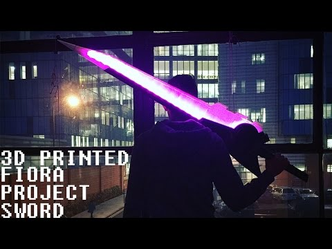 [3D PRINTING] Fiora Project Sword!