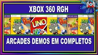 Como Fazer Jogos Arcades Demos de Xbox 360 RGH Ficarem completos