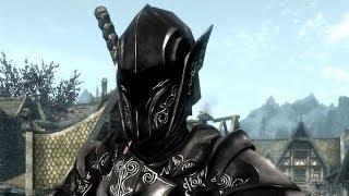 Skyrim Эбонитовый воин ( Клип )