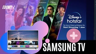 DISNEY PLUS HOTSTAR DI SAMSUNG SMART TV