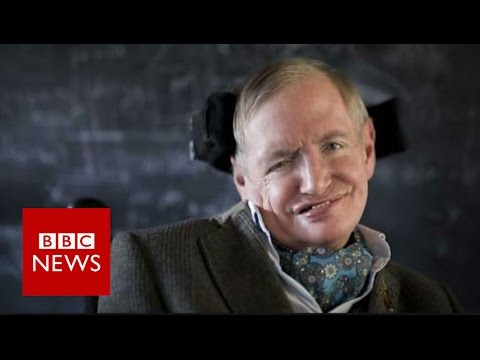 Stephen Hawking explains black holes in 90 seconds - BBC News