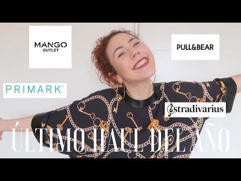 TRY-ON  HAUL (PRIMARK, MAGO OUTLET, PULL&BEAR, BERSHKA...)//DAPROJECT
