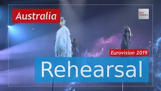 Kate Miller-Heidke - Zero Gravity - Eurovision 2019 Australia (Rehearsal)