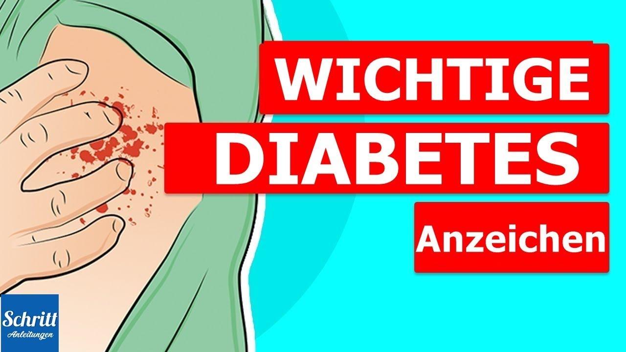Anzeichen einer diabetes erkrankung