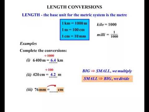 length conversions 2