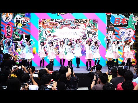 180708『4K』 'Sweat16!' - 'มุ้งมิ้ง' (Love Attention) @ Emquartier Japan Remix 2018