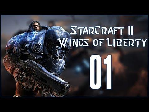 LIBERATION DAY - StarCraft II: Wings of Liberty - Ep.01!