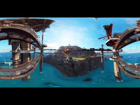 Just Cause 3 - 360° Wingsuit Ride