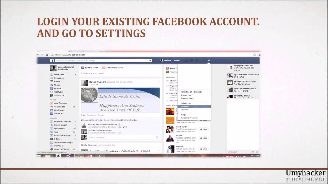 How to create multiple accounts on Facebook with same mobile no