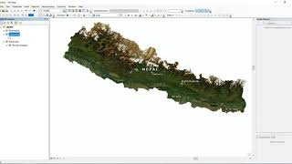 How to clip the base map in arc gis.