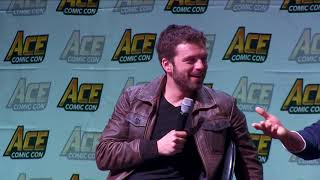 Captain America Panel at ACE Comic Con Arizona w/Chris Evans, Sebstian Stan & Anthony Mackie