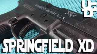 Springfield XD 9 in the 9mm 1st Look Review, Not From the Illinois