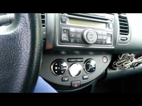 Блокировка магнитолы Clarion Nissan Note 2007 part 2