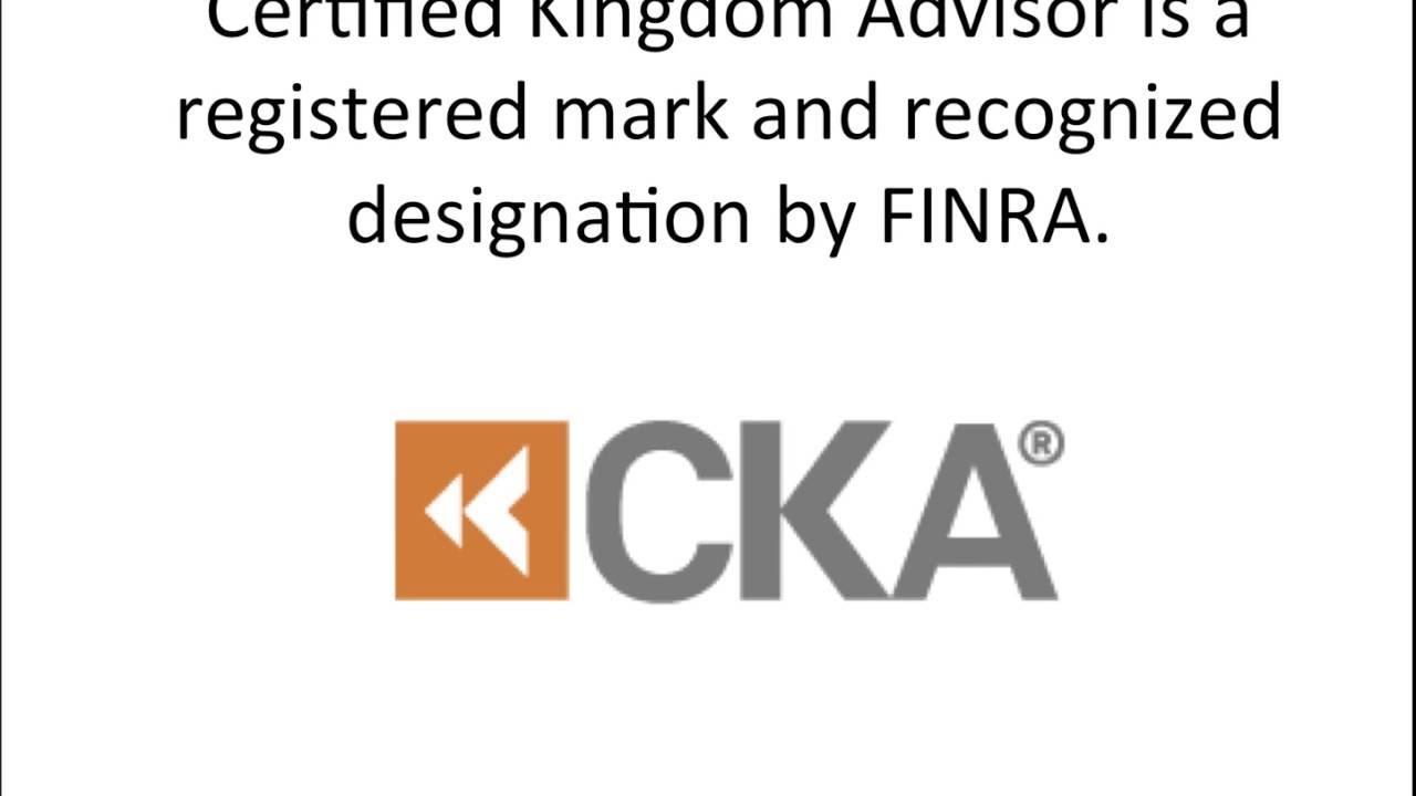 What is Certified Kingdom Advisor?