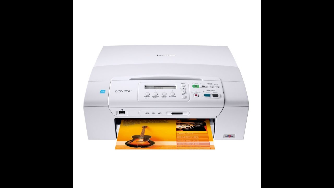 imprimante brother dcp 195c gratuit