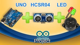 Object detector using ultrasonic sound|Arduino project