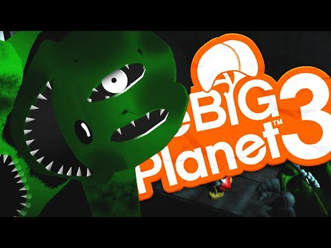 LittleBigPlanet 3 - ABANDONED BY DISNEY CREEPYPASTA - Little Big Planet 3