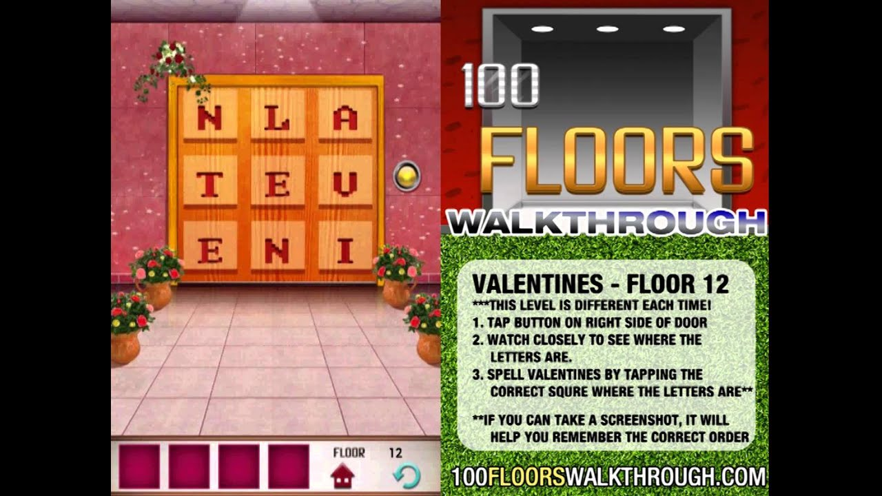 100 Floors Valentines Special Floor 12 Seasons Tower