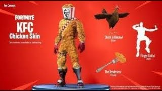 READ MORE ABOUT THIS SKIN KFC FOR FREE ON FORTNITE