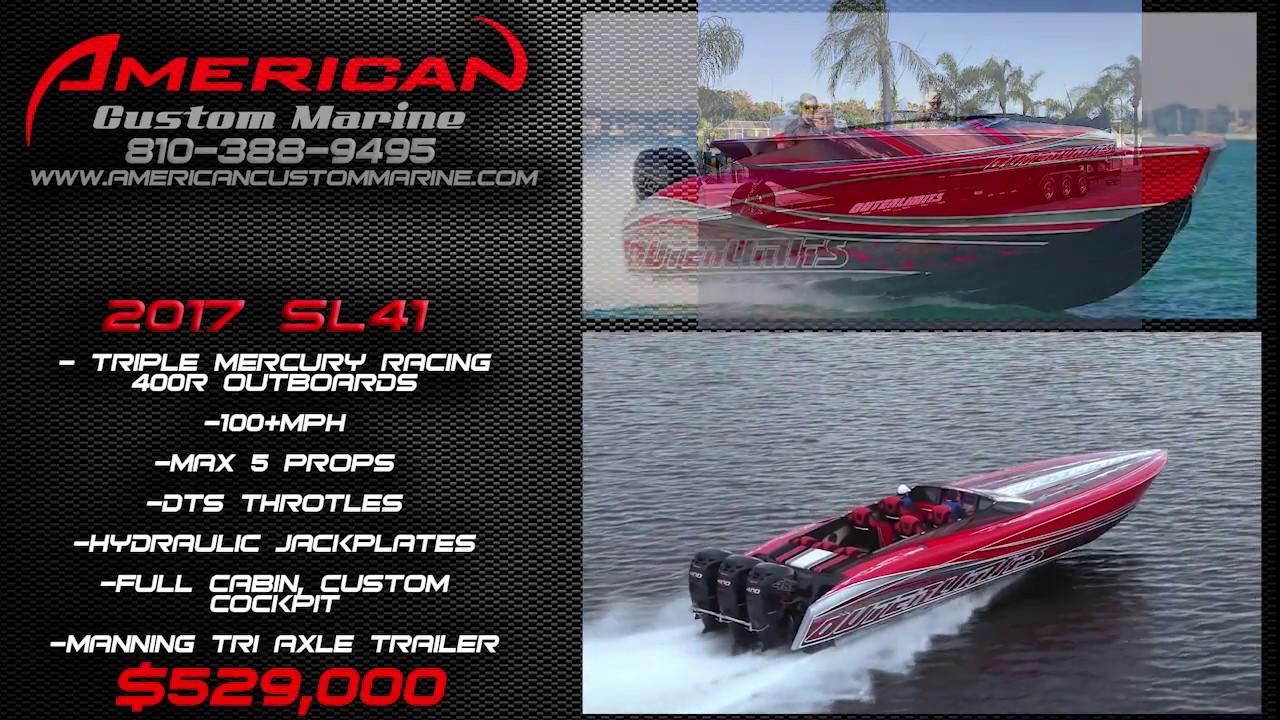 ACM- Outerlimits SL41 Triple 400R