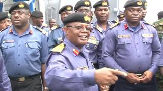 Nigerian Navy Flags Off Opeartions To Protect Maritime Domain