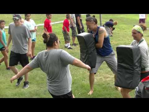 Focus Mitt & Kicking Shield Extravaganza, ASWCO-N7 Multi Sport & Cultural Camp Akwesasne