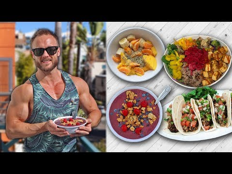 WHAT I EAT IN A DAY | PRE & POST WORKOUT MEALS 🌱💪