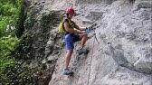 Klettersteigset Gebraucht Kaufen : Klettersteigset test lacd oder edelrid youtube