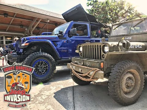2018 Jeep Invasion SMOKEY MOUNTAIN Pigeon Forge Tennessee