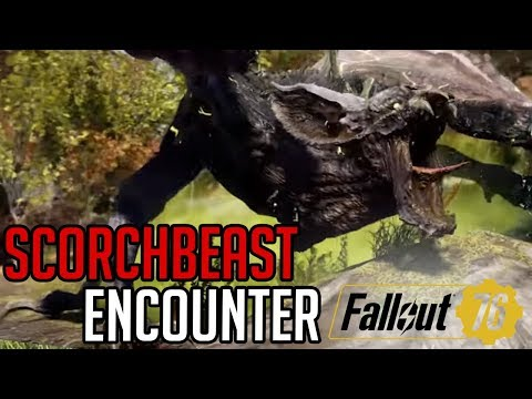 Scorchbeast Encounter (Fallout 76 PC w/ Punjistick)