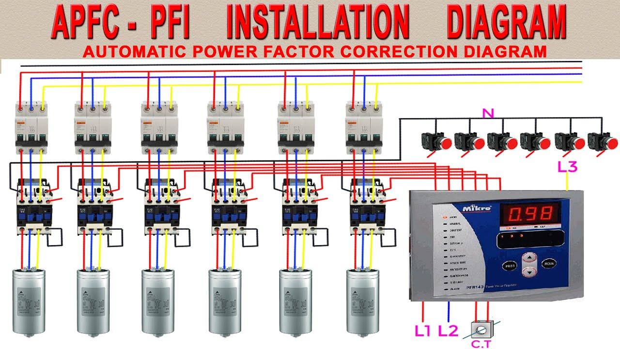 Pfi Panel Board Wiring Diagram