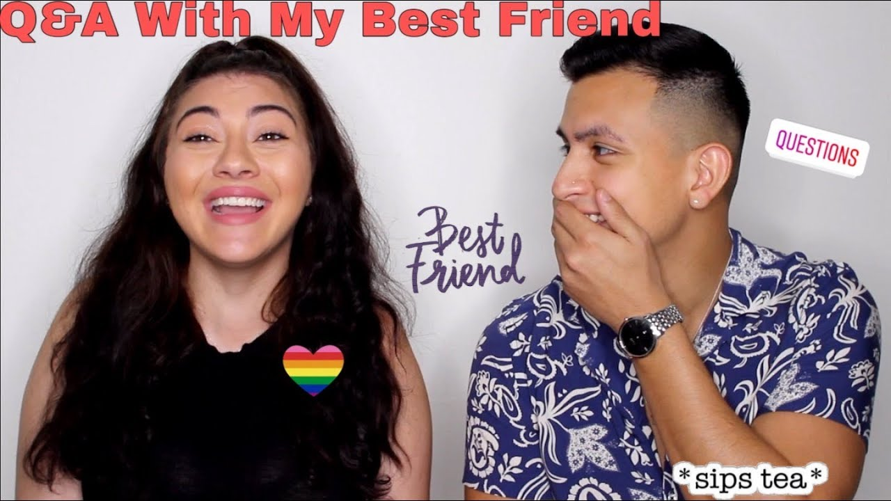 Q&A With My Best Friend - |Threesome, Thoughts on James