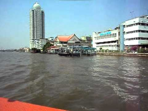 Chao Phraya River Central to N13 Bangkok 12 12 2011