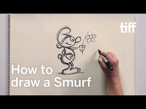 Drawing a Smurf with Director Kelly Asbury | TIFF Kids 2017