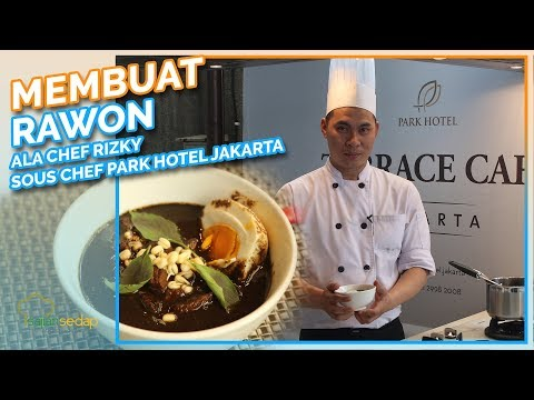 Resep Rawon Ala Chef Rizky Dari Park Hotel Cawang Jakarta, Enak Banget!