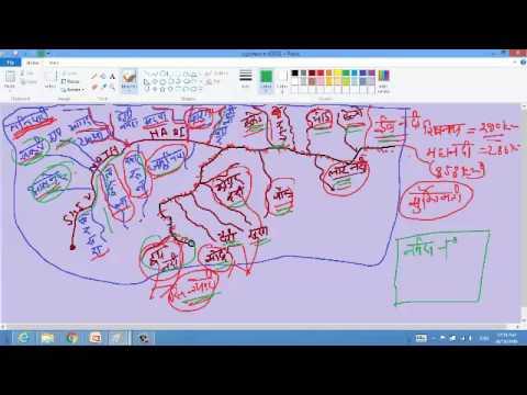 छत्तीसगढ़ अपवाह तंत्र (RIVER SYSTEM) (दीपावली स्पेशल)...कैसे करे तीन घंटे में   रिवीजन PART-04