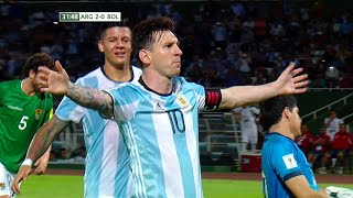 Lionel Messi vs Bolivia (Home) 15-16 HD 720p - English Commentary