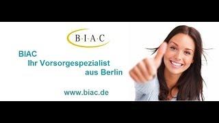 BIAC.de - Riester Rente einfach erklärt