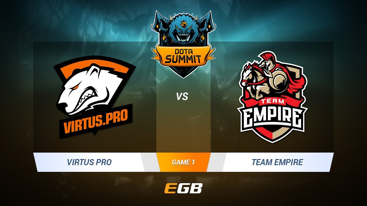 Virtus.Pro vs Team Empire, Game 1, DOTA Summit 7 LAN-Final, Day 1